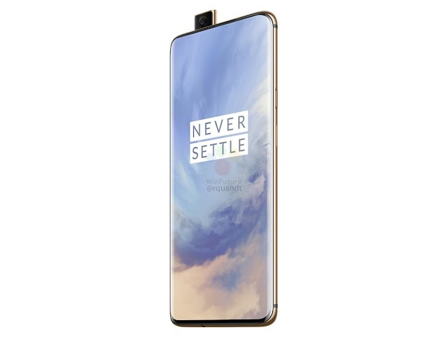 What color is the new OnePlus 7 Pro phone?