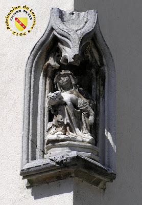 PULLIGNY (54) - Maison à la Pietà (XVIe)