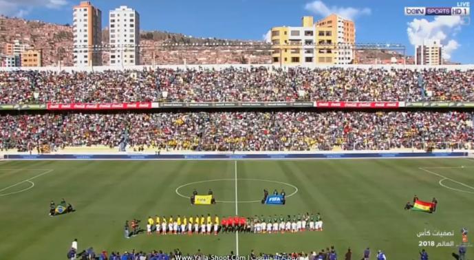 فيديو : البرازيل تتعادل مع بوليفيا الخميس 05-10-2017 فى تصفيات كأس العالم: أمريكا الجنوبية