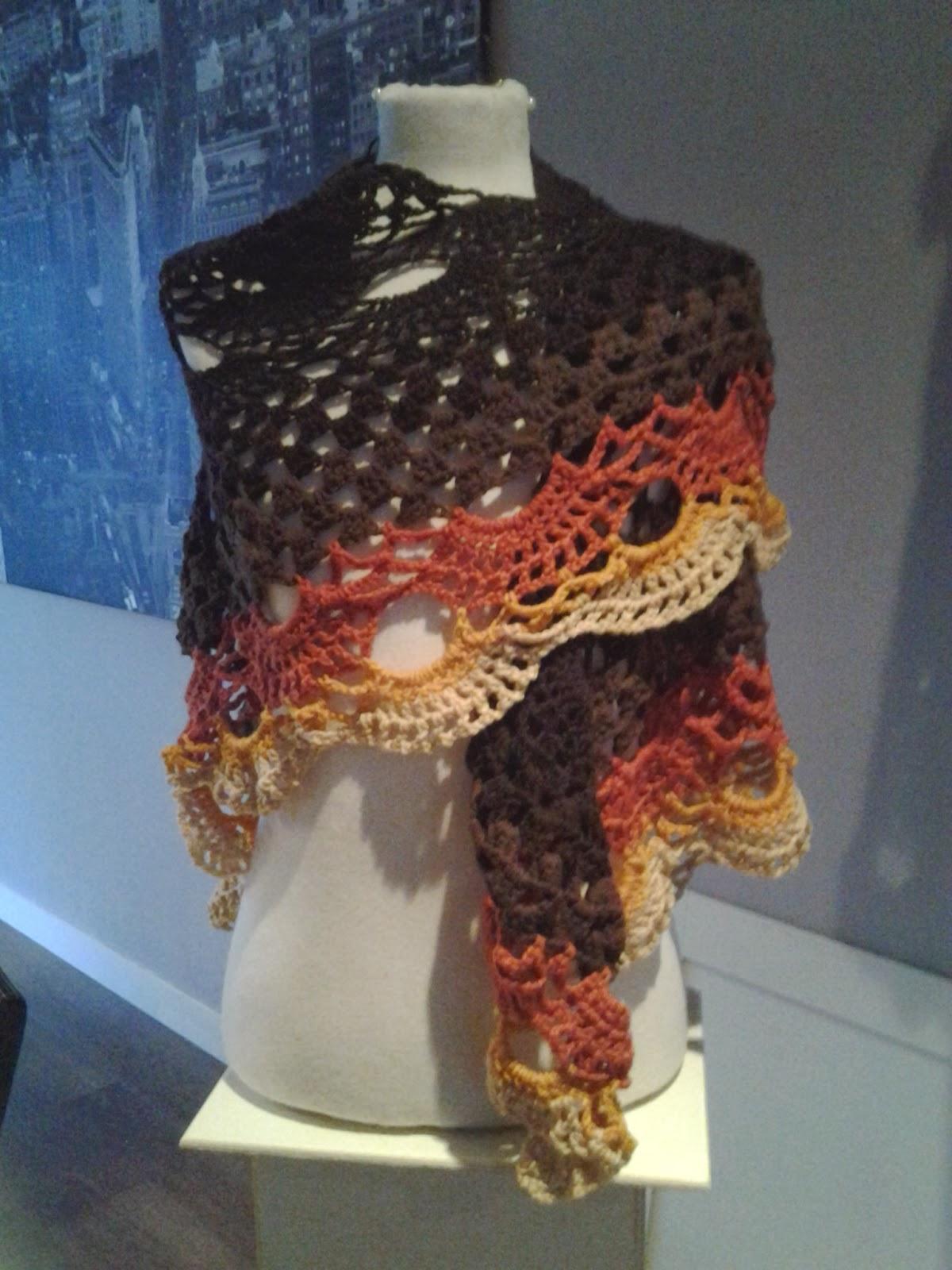 Noesies Hobby Russische Sjaal Met Gratis Patroon