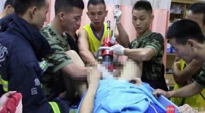 Tentara Dikerahkan untuk Menyelamatkan Kelam1n yang Terjepit