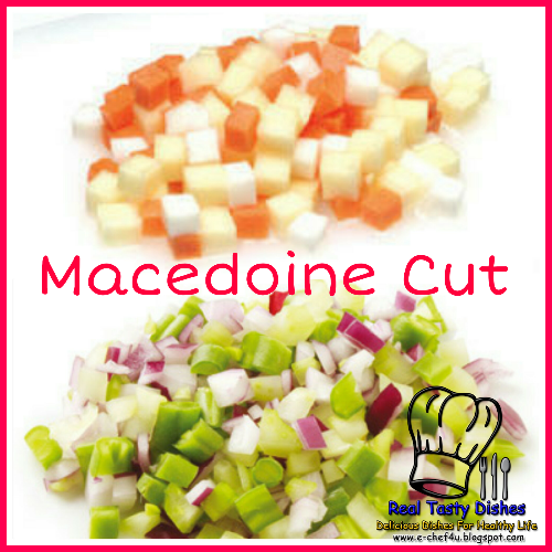 types of vegetable cuts pdf