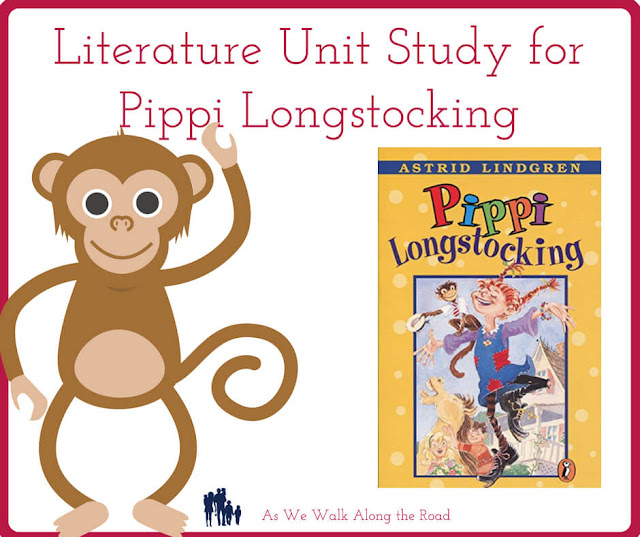 Literature unit study for Pippi Longstocking