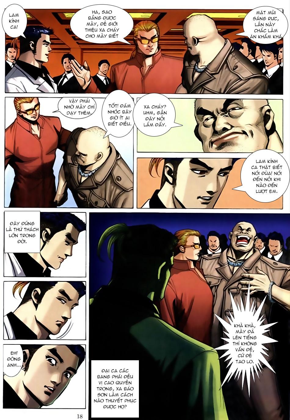 Người Trong Giang Hồ chapter 586: lưỡi chiến quần hùng trang 14