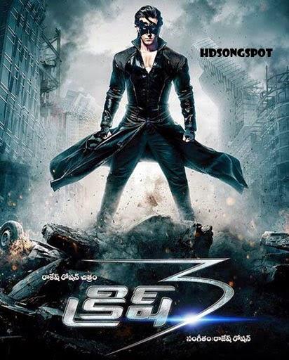 Krrish 3 (2013) DVDRip Telugu Dubbed Full Movie Watch Online Free