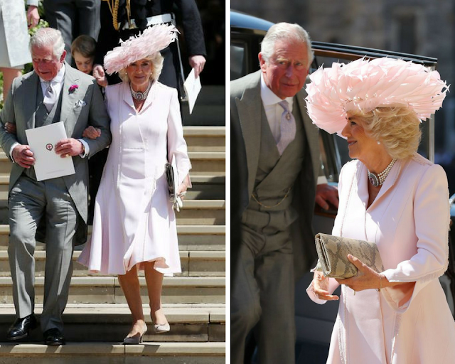 Camilla, Duchess of Cornwall outfit at Royal Wedding