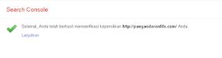 domain tanpa www berhasil ditambahkan