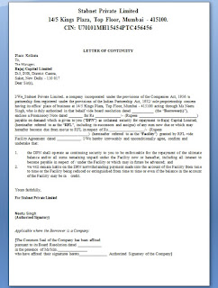 Letter of Continuity Format in