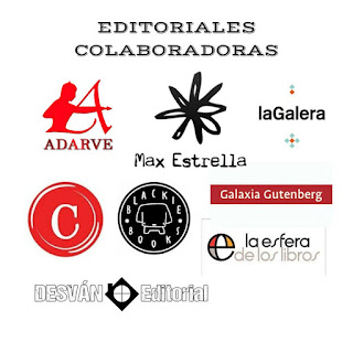 Editoriales que han colaborado con el Gran Sorteo Día del Libro