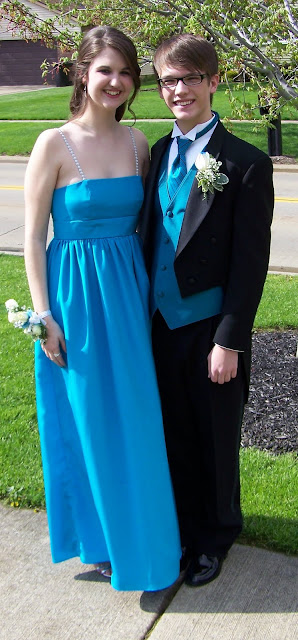 Prom (Boobfest) 2011 and McCall's M5806 in Silk Crepe de Chine