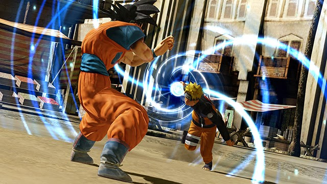 J-Stars Victory Vs, Shounen, Jump, Weekly Shounen Jump, Anime collaboration, games, PS3, Playable Characters, Screenshot, Goku, Naruto, Rasengan