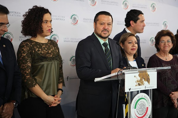 """¿DONDE ESTAS PEÑA? Peña actúa """"como el avestruz"""" ante el escándalo Lozoya-Odebrecht: PAN en el Senado"""