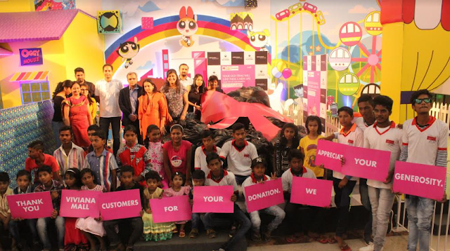 Viviana Mall's donation drive aids underprivileged kids