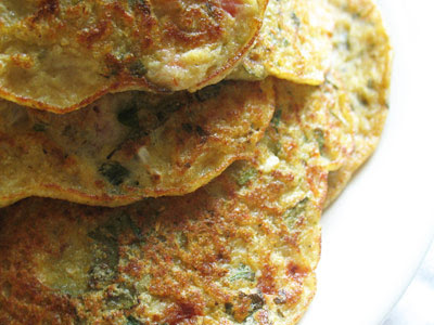 Rice and Lentil Indian Pancakes