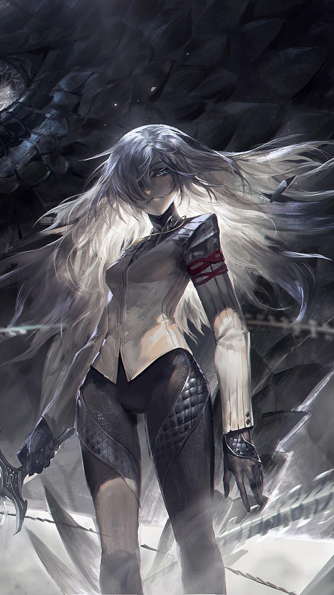 Anime Girl Warrior Fantasy Snake Pixiv Fantasia 4k 3840x2160
