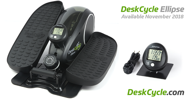 DeskCycle Ellipse is My Secret to Staying Fit! + a #Giveaway