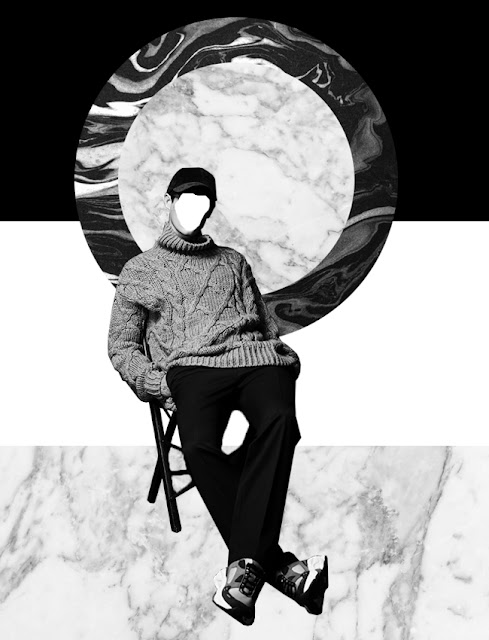 fashion collage art mens fashion