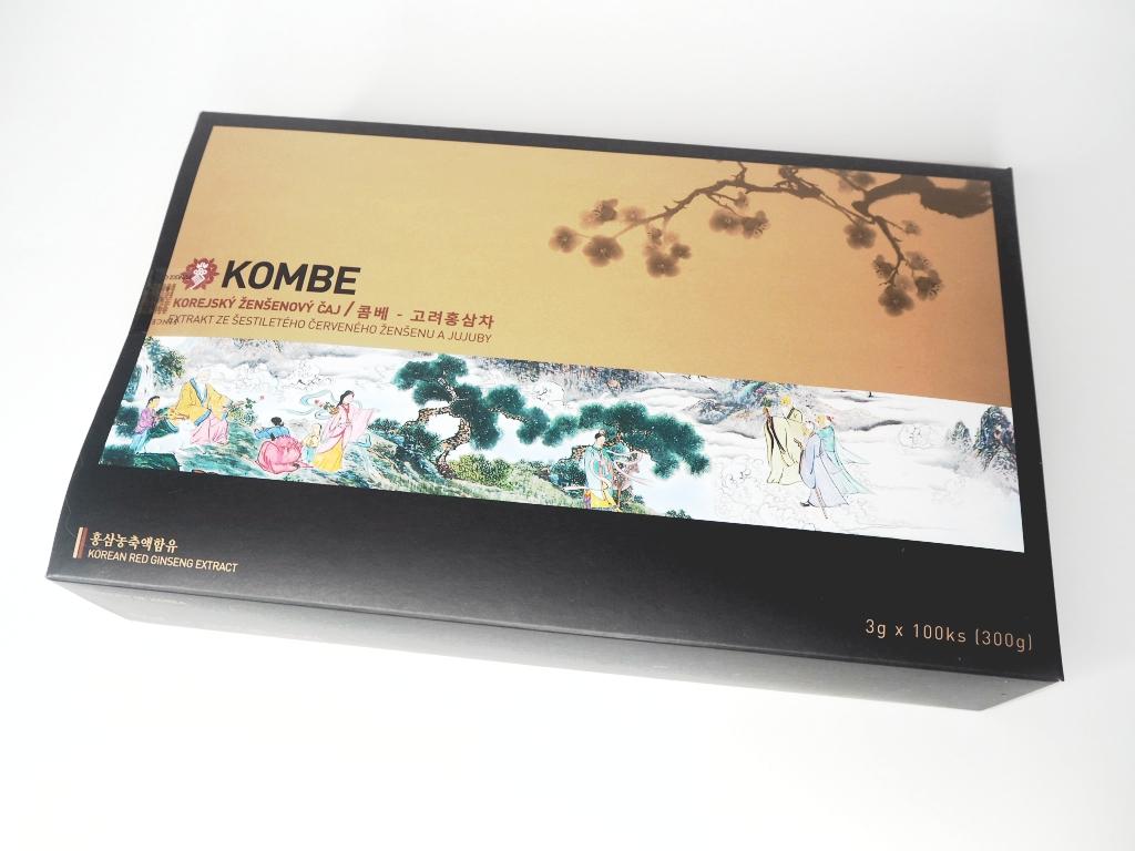 korejský ženšenový čaj