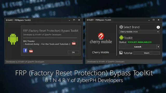 Factory Reset Protection Bypass Toolkit