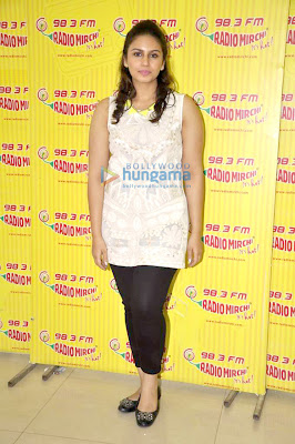 Arjun Rampal &  Huma Qureshi Promotes 'D-Day' at 98.3 Radio Mirchi