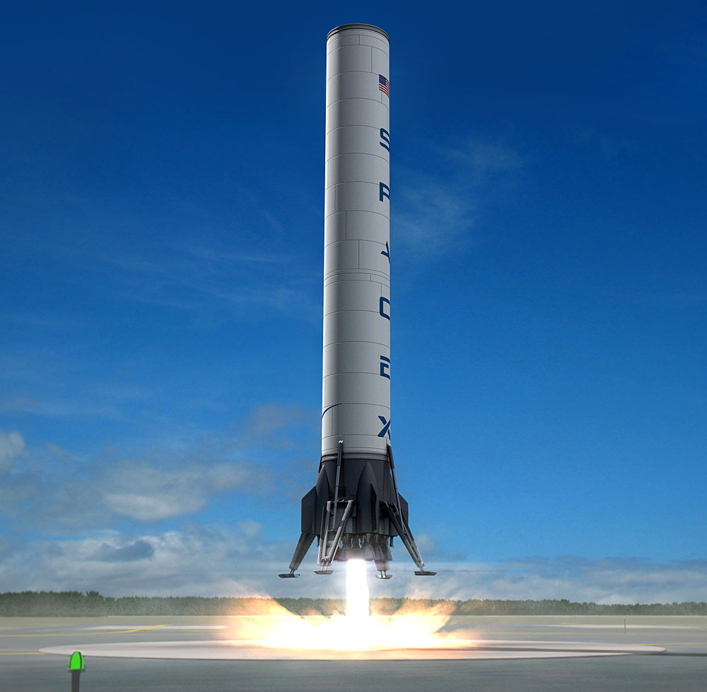 spacex model rocket - photo #14