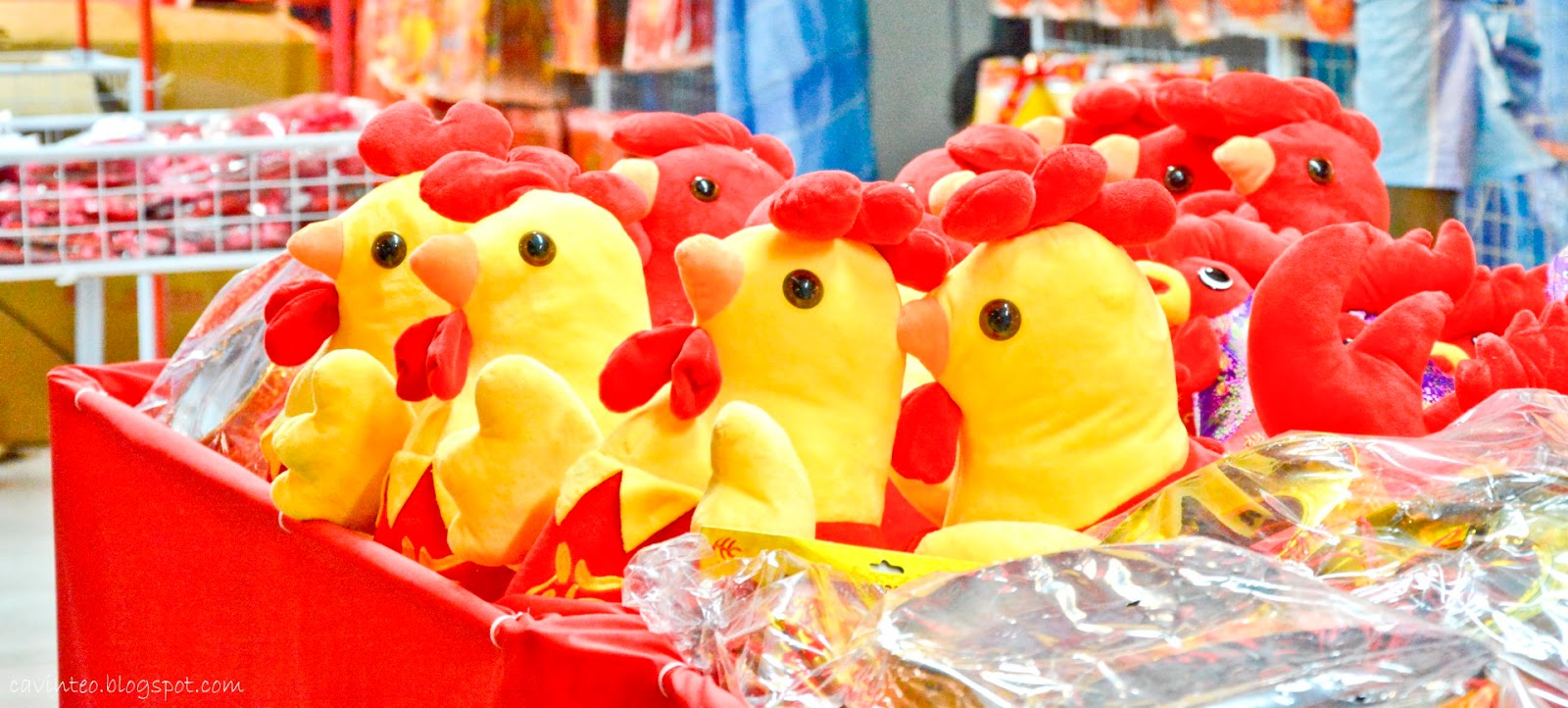 Entree Kibbles Street Light Up Night Decoration For The Year Of The Rooster Chicken 2017
