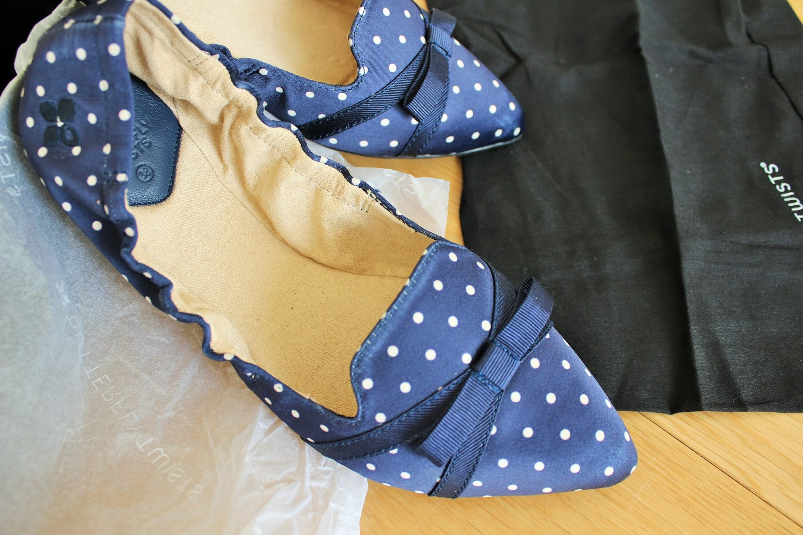Foldable ballet flats from Butterfly Twists