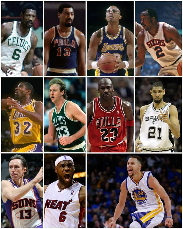 Complete List Of NBA Finals MVPs From 1969 To 2016