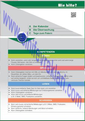 9. Sınıf Almanca A1.1 Ders Kitabı Cevapları Sayfa 61