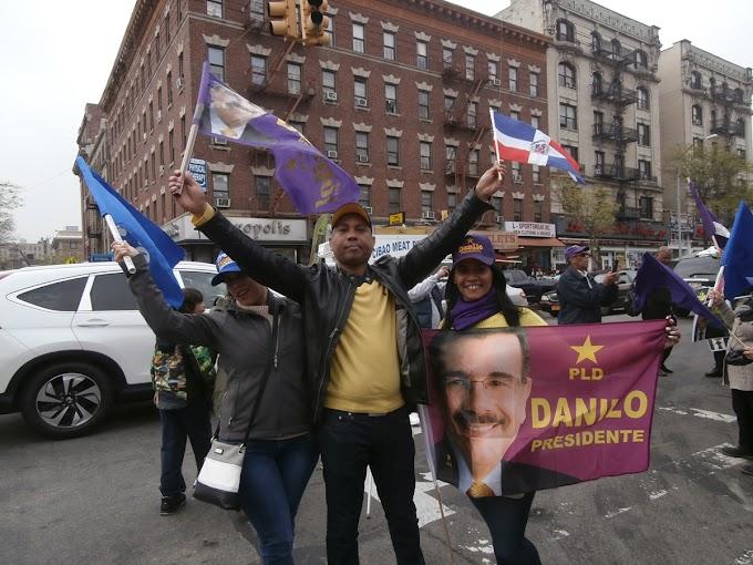 El PLD cerrará campaña en NY con masiva caravana en El Bronx este domingo 8 de mayo