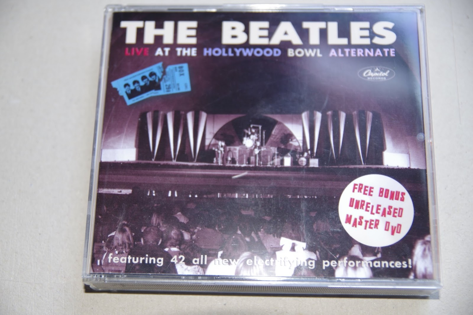 beatle collector the beatles at hollywood bowl alternates master videos. Black Bedroom Furniture Sets. Home Design Ideas