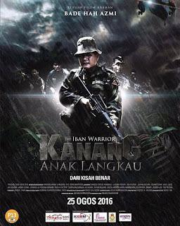 Download Film Kanang Anak Langkau The Iban Warrior (2017) Bluray Full Movie