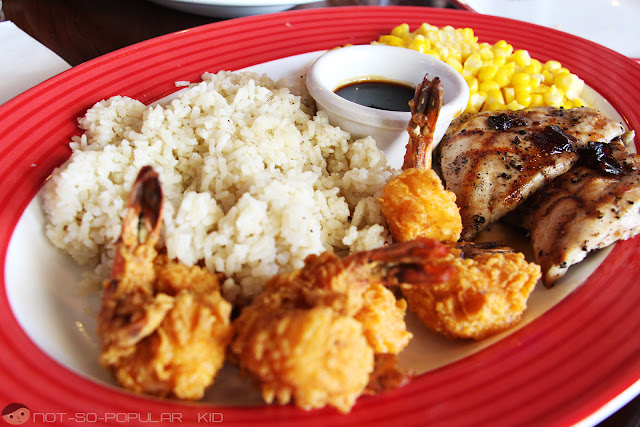 Jack Daniel's Chicken and Shrimp at TGIF