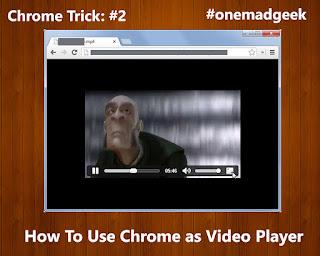 Use Google Chrome as a Video Player - Chrome Tricks