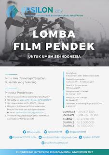 Lomba Film Pendek EPSILON 2017