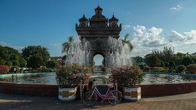 Patuxai Gate in Vientiane