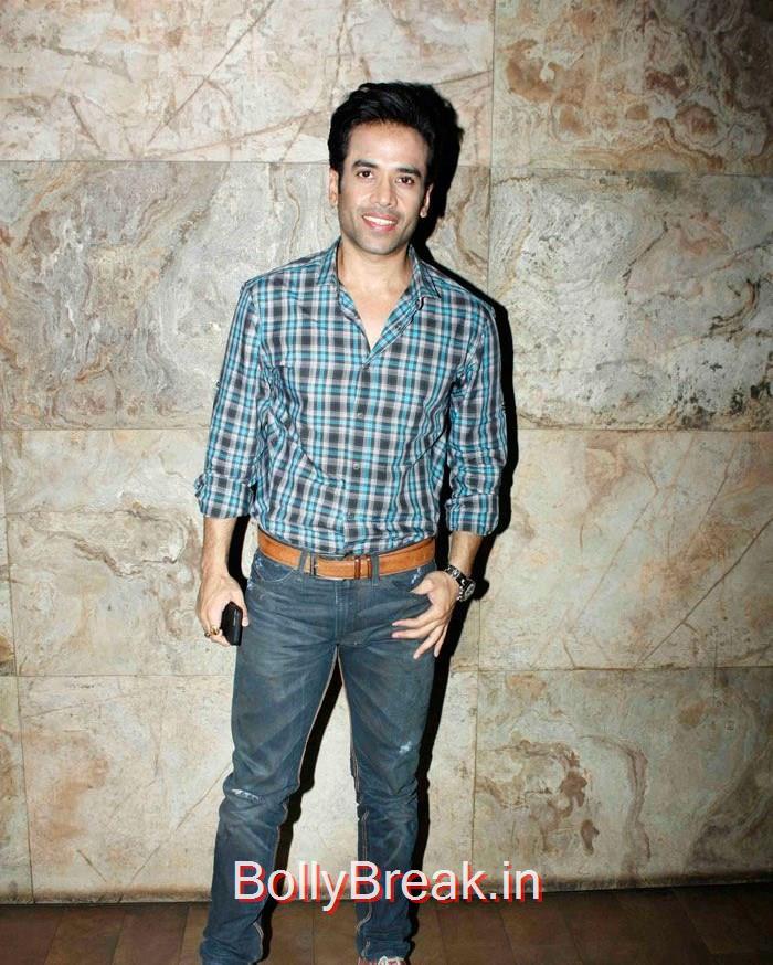 Tushar Kapoor, 'Tanu Weds Manu Returns' Special Screening Pics