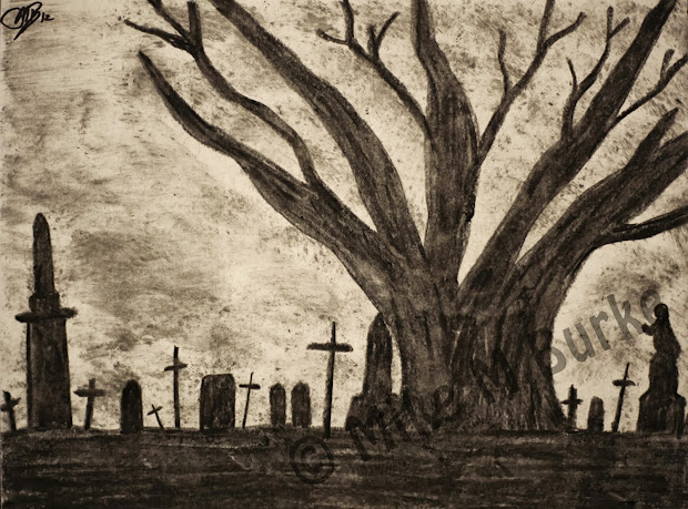 Mikemburkedesign Gothic Drawings Perfect Halloween