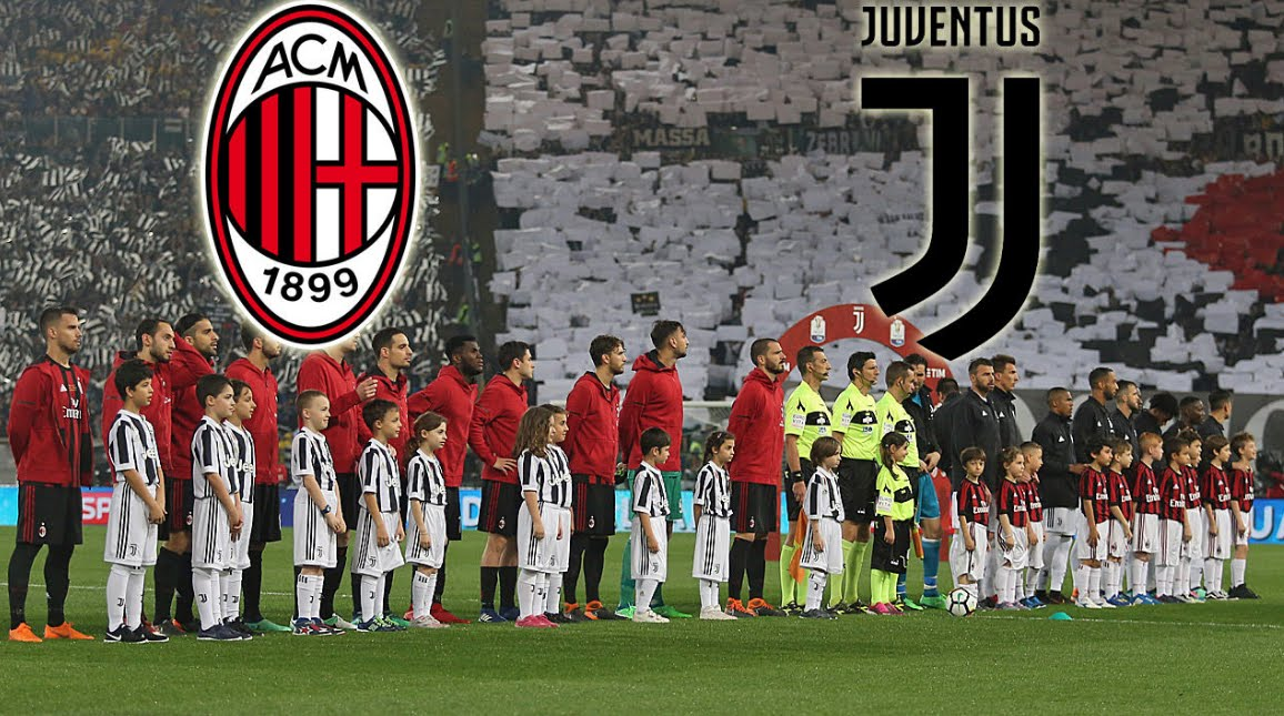 DIRETTA Milan-Juventus Streaming Rojadirecta Sky.