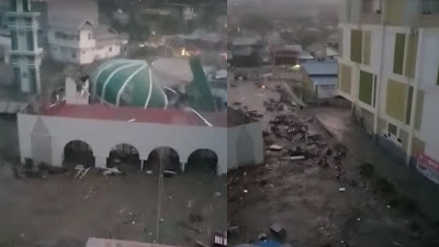 384 Jiwa Meninggal Akibat Tsunami Palu