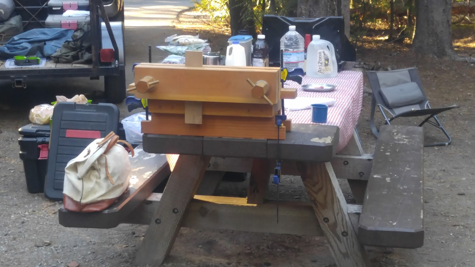 Oregon Woodworker By Andy Margeson Woodworking In The Woods