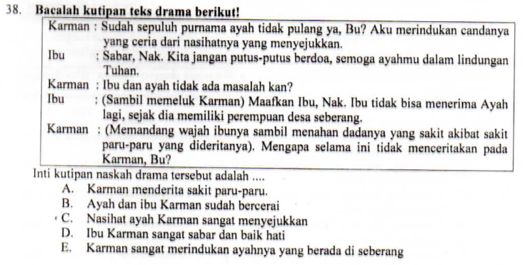 Unsur Intrinsik Teks Drama Zuhri Indonesia