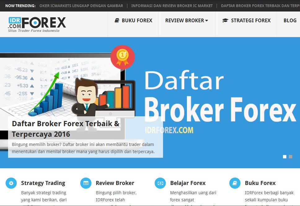 Broker forex terbaik untuk trader kami