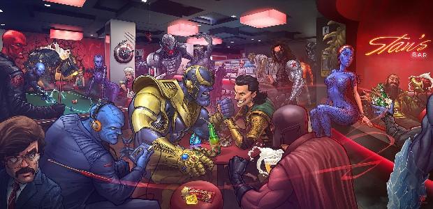 Gadżety Marvel AliExpress