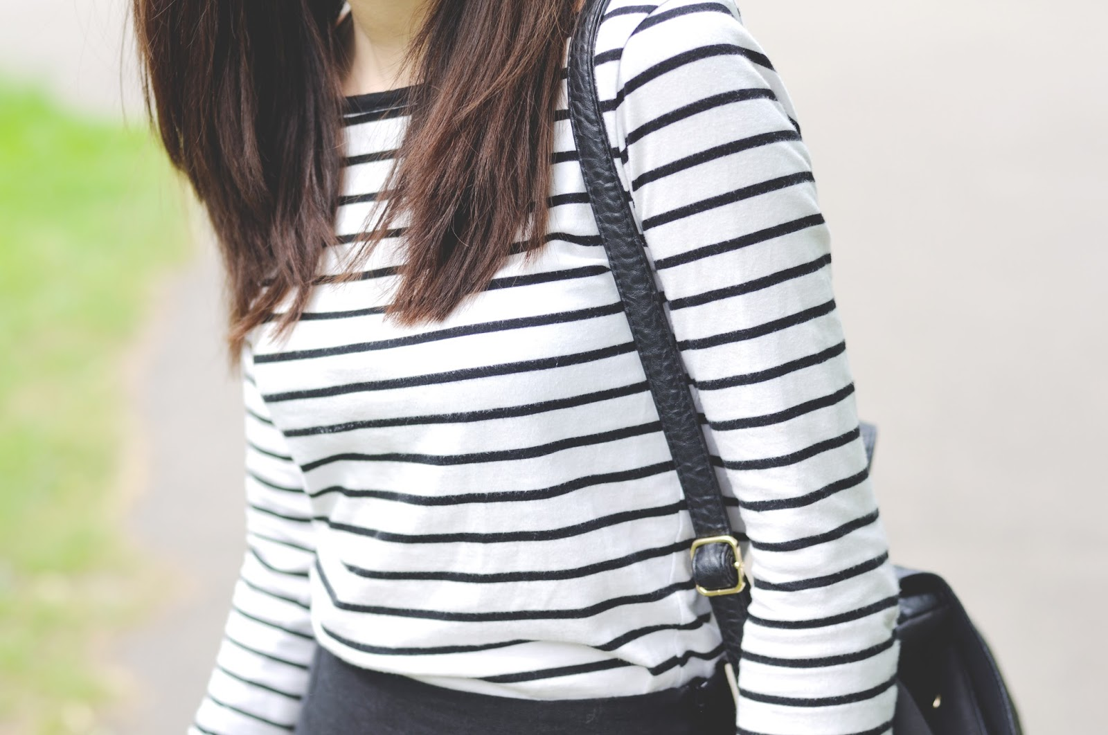 stripey top