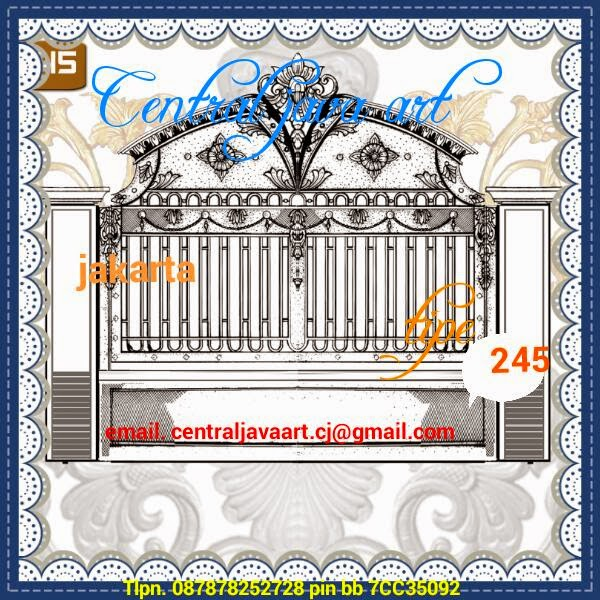 Besi Tempa Tempa Klasik Elegan Cor Alluminium Alferron