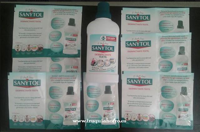 sanytol textil desifectante