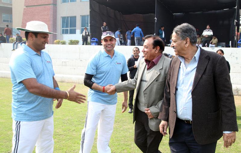 मानव रचना 12 वीं कॉर्पोरेट क्रिकेट चैलेंज : एशियाई अस्पताल और मानव रचना ने जीता मैच