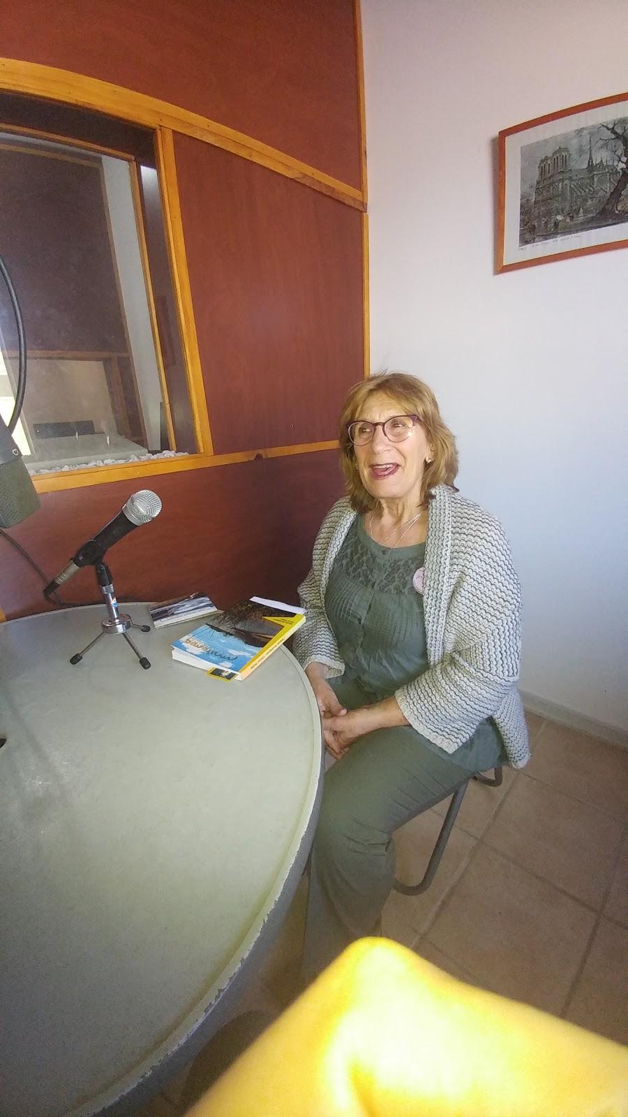 Una charla con la escritora Marilú Rodríguez