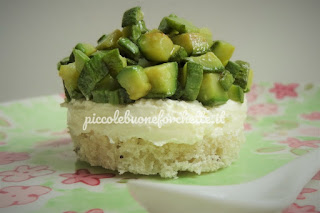foto ricetta cheesecake salata per bambini